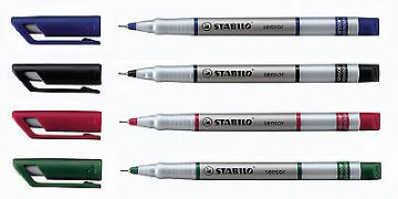 STABILO SENSOR FINELINER ULTRA FINE LINE MARKER (SINGLE PEN)
